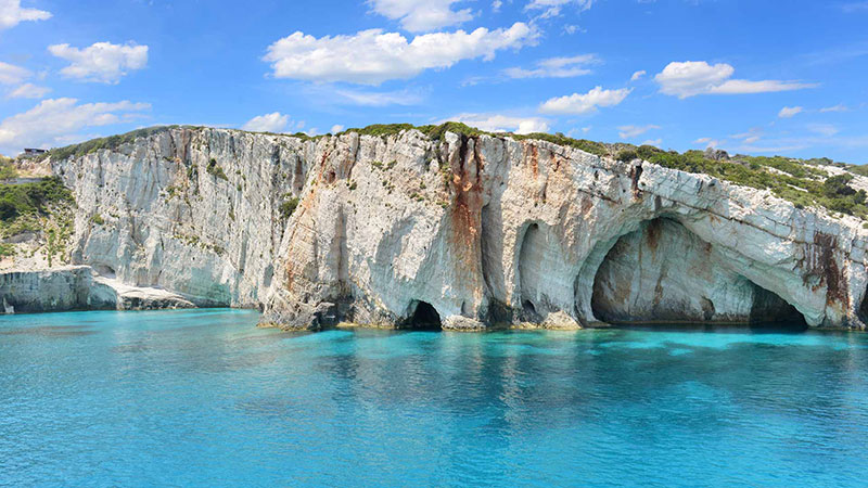 Grotte Blu a Zante