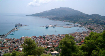 Zante from the top